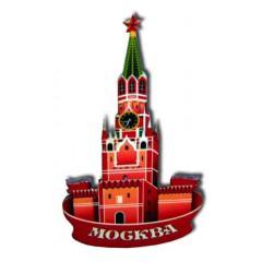Магнит деревянный Кремль новый