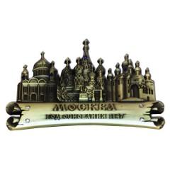 Магнит металлический 027-1BR-19K35 фигурный ХСС- ХВБ - Благовещенский собор бронза