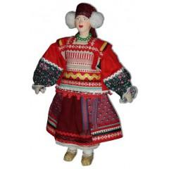 Кукла авторская Галина Масленникова А1-1 Рязанской губернии (Михайловский уезд) женский костюм