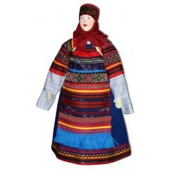 Кукла авторская Галина Масленникова А1-13 Московской губернии женский костюм