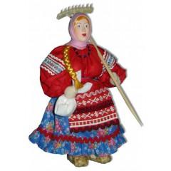 Кукла авторская Галина Масленникова А2-12 Марья с граблями