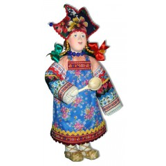Кукла авторская Галина Масленникова СКМД Скоморошенка