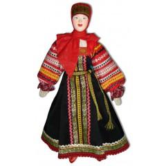 Кукла авторская Галина Масленникова А1-3 Смоленской губернии женский костюм
