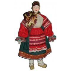 Кукла авторская Галина Масленникова А1-4 Московской губернии женский костюм