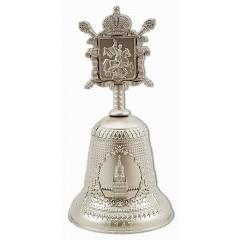 Колокольчик 040CHM-VK-GM Москва, Герб, цвет хром матовый