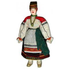 Кукла авторская Галина Масленникова А1-6 Воронежской губернии женский костюм