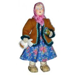 Кукла авторская Галина Масленникова А2-22-2 Девочка пасхальная