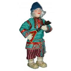 Кукла авторская Галина Масленникова А2-6-1 Федя с балалайкой