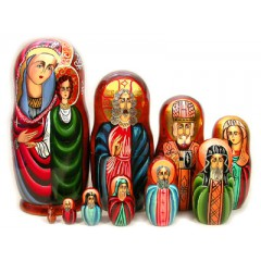 Матрешка 10 мест Религия