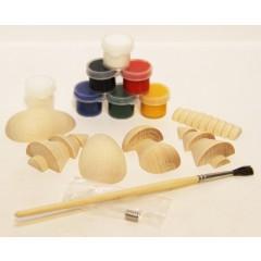 Лесной, набор для творчества (магниты, краски, кисточка в упаковке)