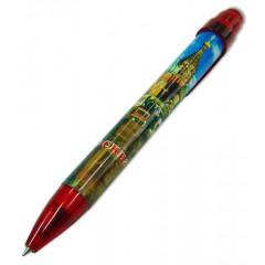 Ручка 464-19-R сувенирная Москва. ХВБ красная К (899-300-11-R)