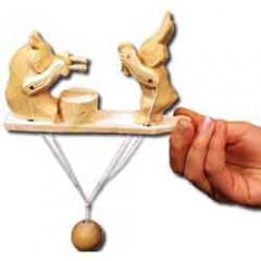 Богородская игрушка Музыканты калинка