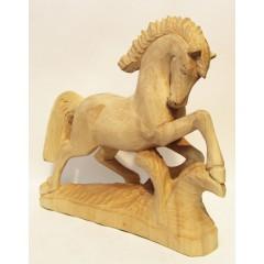 Богородская игрушка резная игрушка конь