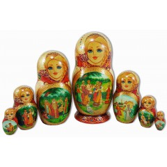 Матрешка 7 мест Сказки, Афанасьев
