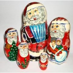 Матрешка 5 мест Дед Мороз 15. ПГ
