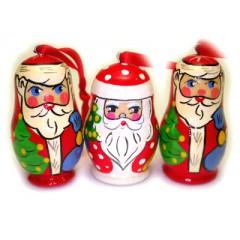 Новый Год и Рождество елочная игрушка Дед Мороз