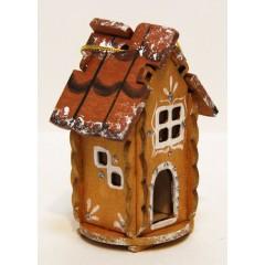 Новый Год и Рождество елочная игрушка домик