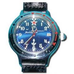 Часы мужские наручные, Восток 431831, командирские механические, Подводная Лодка