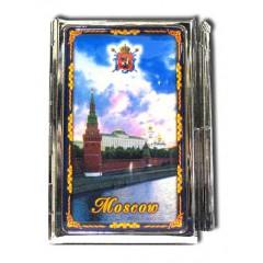 "Книга 04-22 блокнот мет. ""Москва. Набережная"" с ручкой"