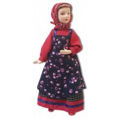 Кукла фарфоровая Алёнка