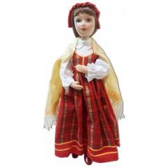Латышский праздничный костюм