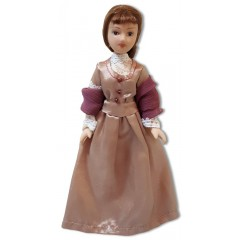 дама, костюм 19-ого века
