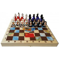 Шахматы СССР и США, президенты