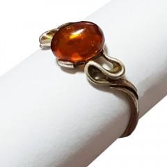 Янтарь кольцо Р0105