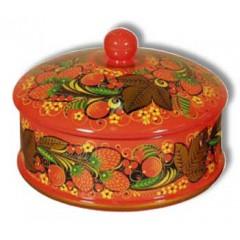 Хохлома сувенирная Коробка 100