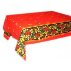 Текстиль скатерть Хохлома, 1.5 x 1.5 (А09008)