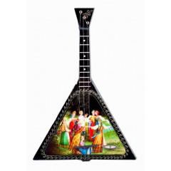 Музыкальный инструмент балалайка Хоровод, музыкальная шарманка