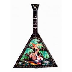 Музыкальный инструмент балалайка Жар-птица, музыкальная шарманка