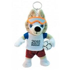 Чемпионат мира по футболу 2018 брелок Забивака ЧМ2018 мягкая игрушка