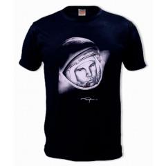 Футболка L Гагарин, L, черная