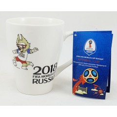 Чемпионат мира по футболу 2018 кружка, чемпионат мира по футболку, ЧМ 2018, 400 мл.