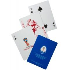 Чемпионат мира по футболу 2018 Карты игральные, ЧМ2018, 54 листа