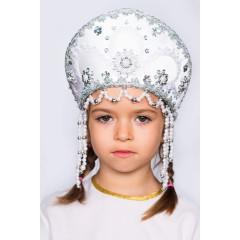 Русский народный костюм КОКОШНИКИ Кокошник Алина АЛИ-00-11-00, 11 см