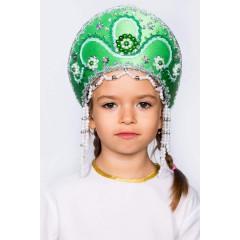 Русский народный костюм КОКОШНИКИ Кокошник Алина АЛИ-00-08-00, 11 см