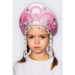 Русский народный костюм КОКОШНИКИ Кокошник Алина АЛИ-00-05-00, 11 см