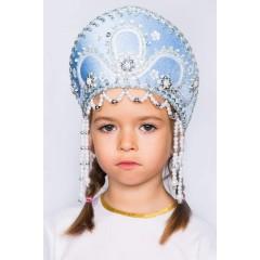 Русский народный костюм КОКОШНИКИ Кокошник Алина АЛИ-00-03-00, 11 см