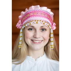 Русский народный костюм КОКОШНИКИ Кокошник Инна ИНН-00-05-00, 6 см