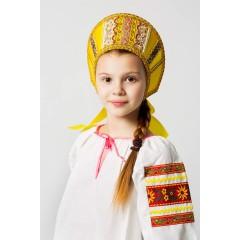 Русский народный костюм КОКОШНИКИ Кокошник Марья МАР-00-09-00, Высота 11 см