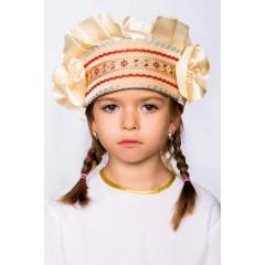 Русский народный костюм КОКОШНИКИ Кокошник Настенька НАС-00-09-00, 8 см