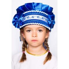 Русский народный костюм КОКОШНИКИ Кокошник Настенька НАС-00-02-00, 8 см