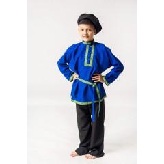Русский народный костюм КОСОВОРОТКИ Косоворотка Емеля ЕМЛ-00-02-00, рост 146-152