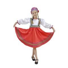 Русский народный костюм ПЛАТЬЯ СИЯ 00-01-00, рост 134-140