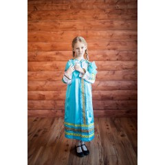 Русский народный костюм САРАФАНЫ Сарафан Алёнушка АЛН-00-03-00, рост 146-152