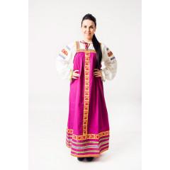 Русский народный костюм САРАФАНЫ Сарафан Дарья ДАР-00-07-00, рост 134-140