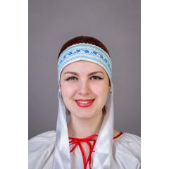 Русский народный костюм КОКОШНИКИ Повязка  Наталья ПНА-00-00-00, 6 см