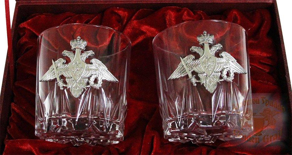 Подарок с гравировкой Подарки для мужчин Бокалы для виски 050202024/1, Набор бокалов для виски в футляре